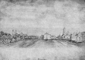 «Умань». Рисунок Наполеона Орды