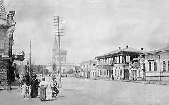 Возле базара. Фотографии Старой Умани.