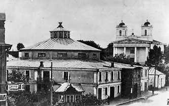 Театр. Фотографии Старой Умани.