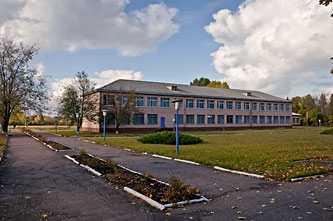 Школа в селе Великий Хутор