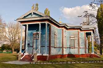 Петр-Павловская церковь в селе Великий Хутор