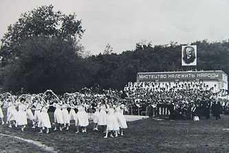 Праздник музыки и народной песни в Каменке в честь 125-летия со дня рождения П.И. Чайковского, 1965 г.