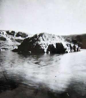 Пушкинская скала в Каменке