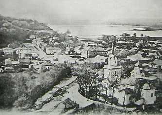 Вид с горы Московки на Спасскую церковь