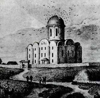 Успенский собор в XII столетии
