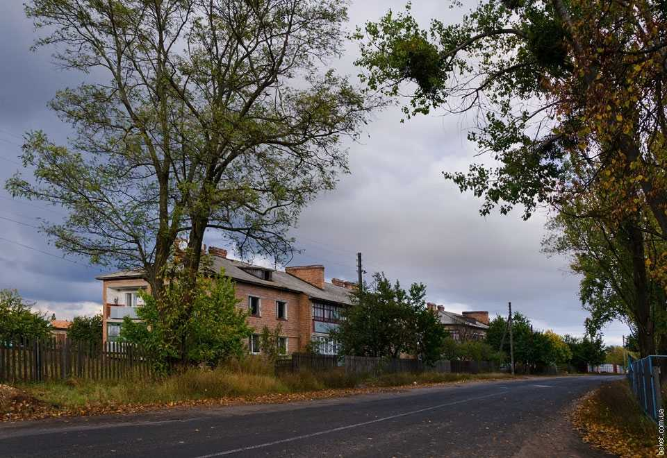 Многоквартирные дома в селе Кедина Гора