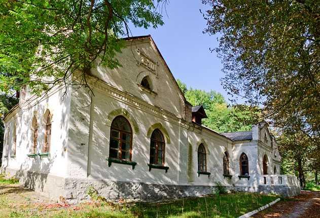 Один из домов княгини Куракиной в селе Казацкое