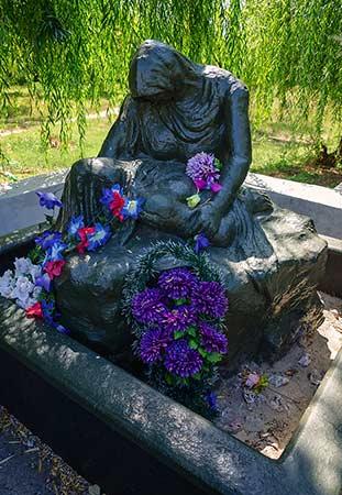 Мемориал в честь погибших воинов