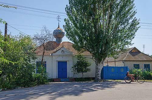 Церковь в селе Красное