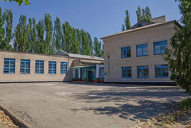 Школа в Красном
