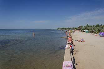 Море в селе Красное