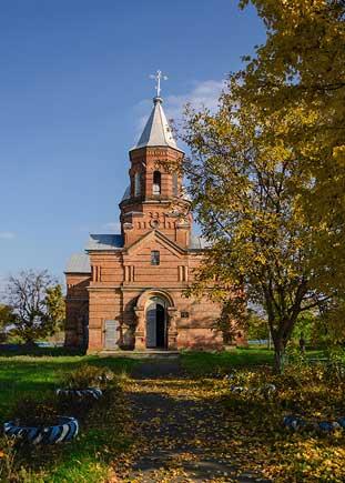 Церковь в селе Крымки