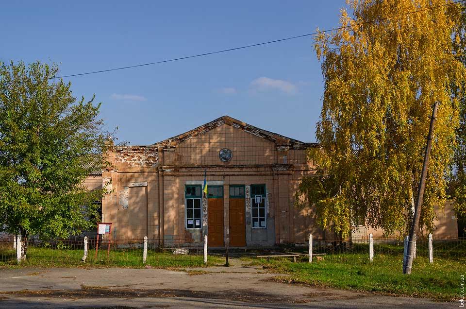 Дом Культуры в селе Крымки
