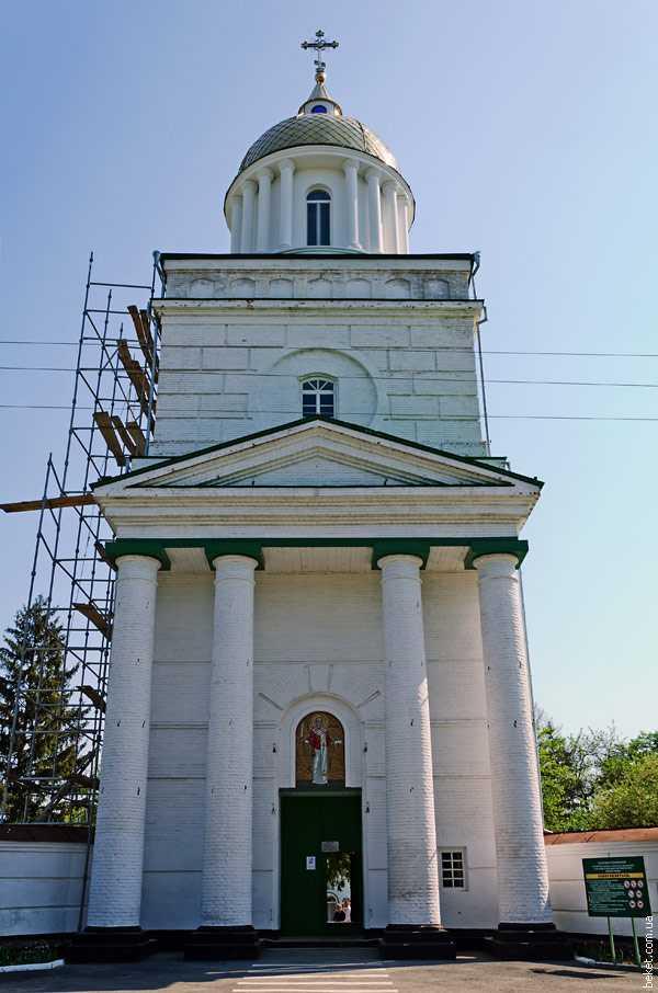 Колокольня Лебединского Свято-Николаевского монастыря 2.05.2012