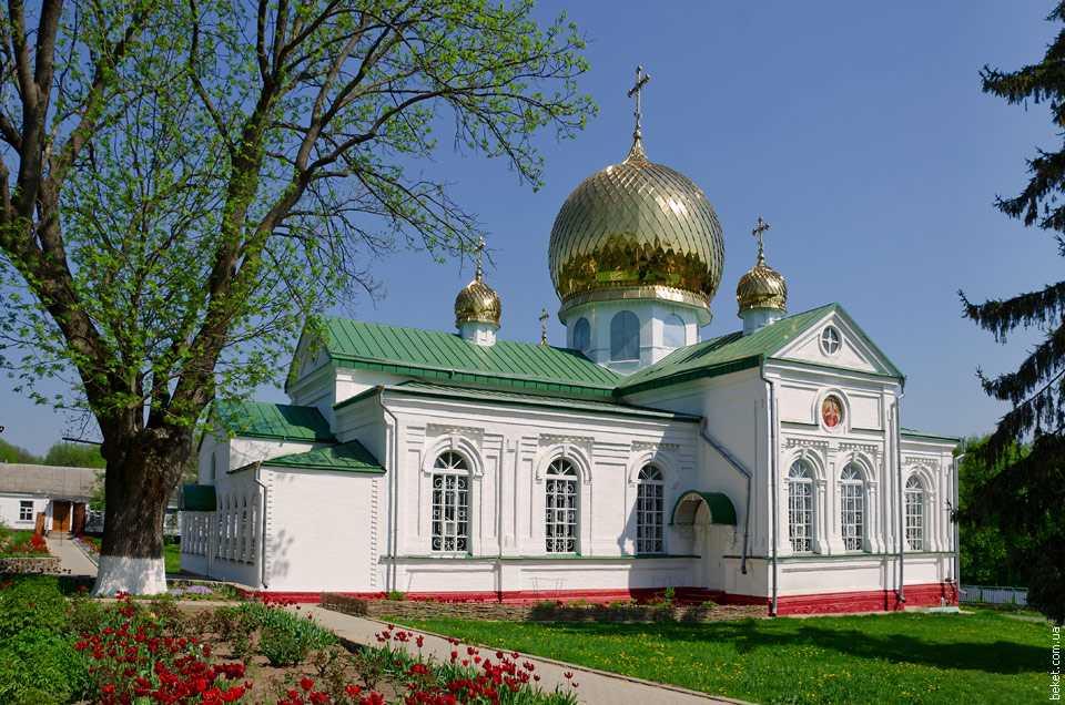 Варваринская церковь Лебединского монастыря