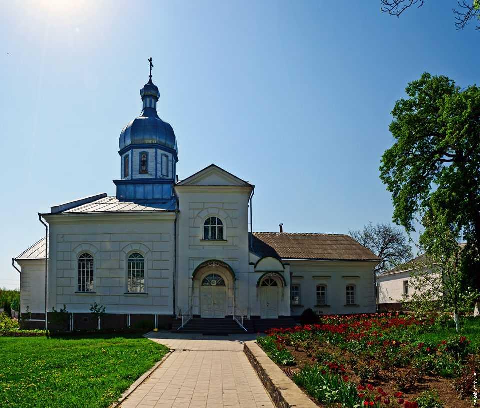 Николаевская церковь Лебединского монастыря