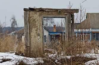 Развалины в Лозовке