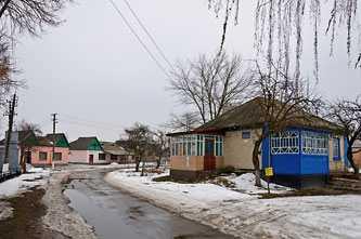 Почтовое отделение в Лозовке