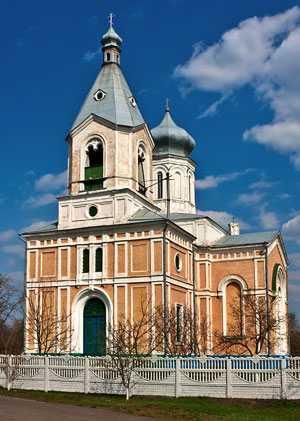 Церковь Успения Пресвятой Богородицы в селе Медведовка