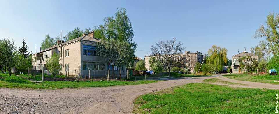 Многоквартирные дома в Медведовке