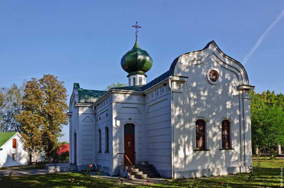 Храм Пресвятой Троицы в Млиеве