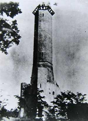 Башня Святослава. Старинные фотографии села Мошны