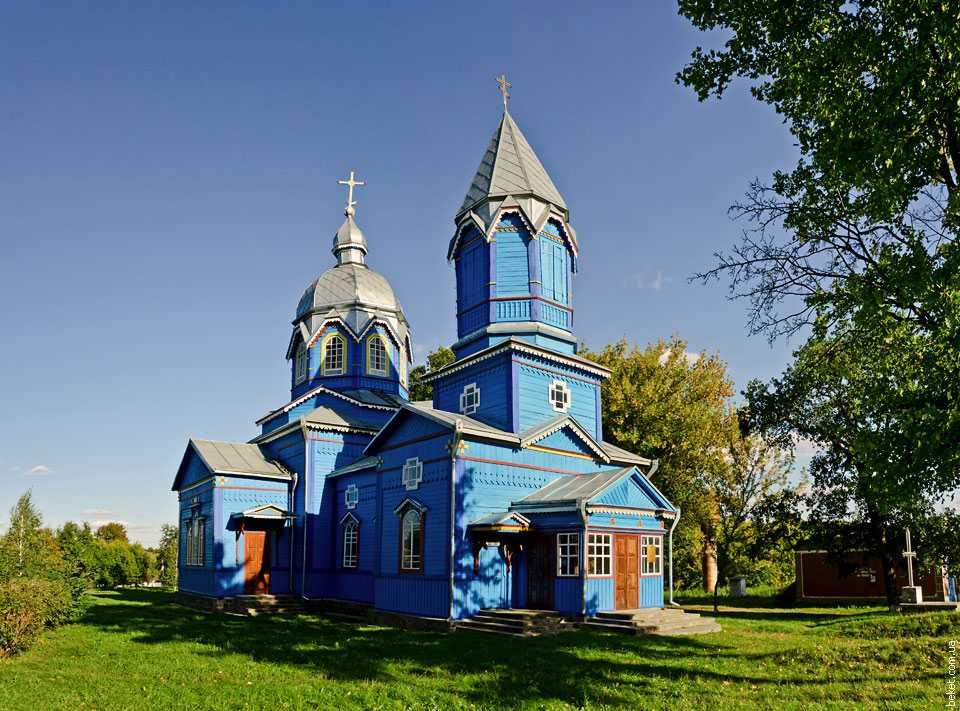 Свято-Георгиевская церковь в селе Мизиновка