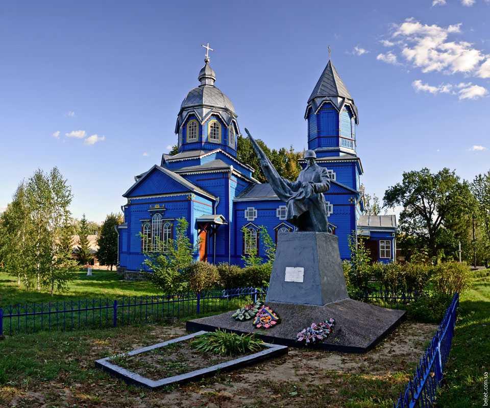 Памятник погибшим за отчизну в Великой Отечественной войне в селе Мизиновка