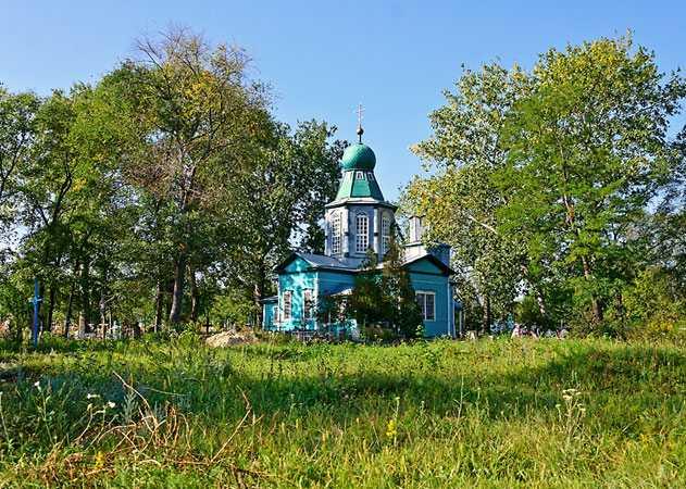 Церковь в Набокове