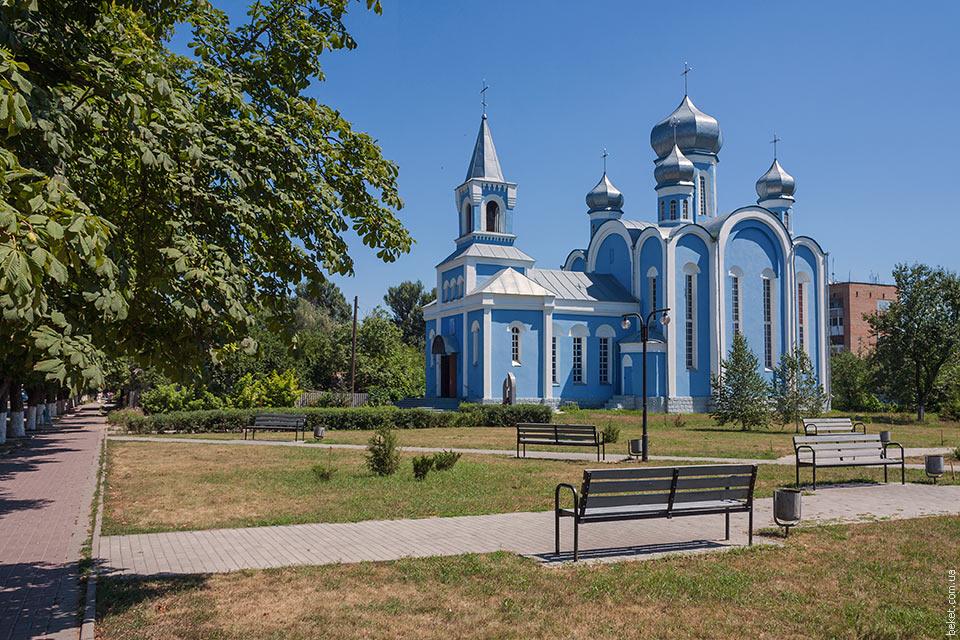Церковь в Александровке