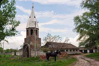 В селе строится церковь
