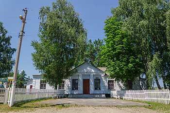 Клуб в селе Раскопанцы