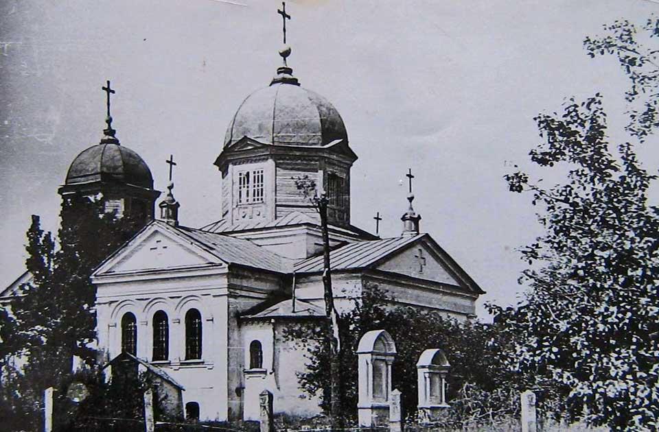 Церковь над склепом в Разумовке [прибл. начало ХХ ст.]