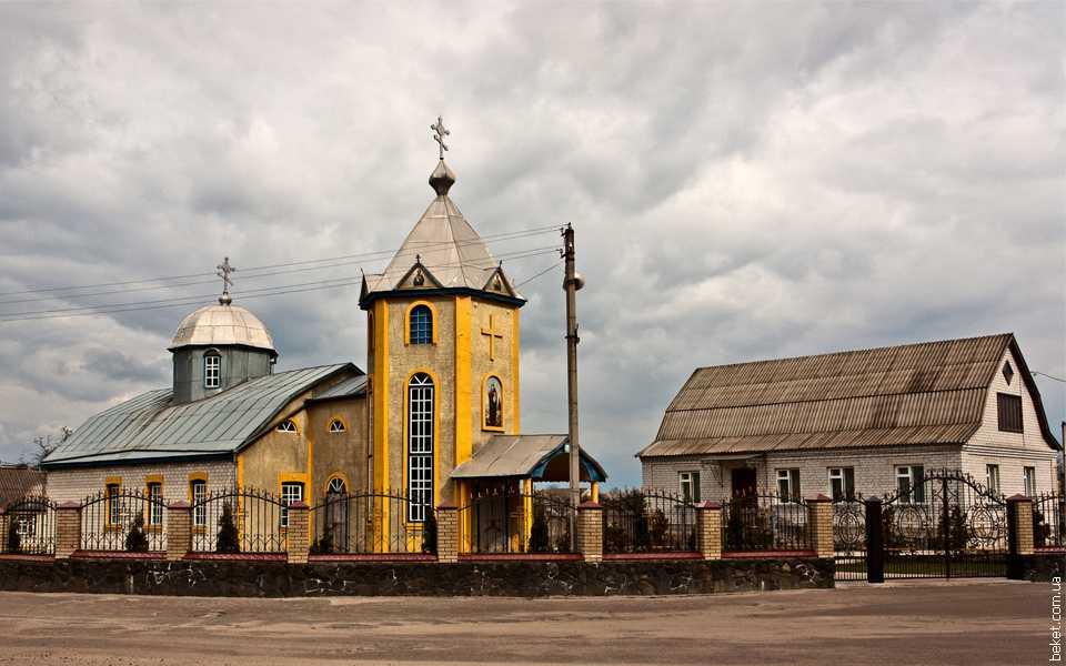 Свято-Иллинская православная церковь в селе Русская Поляна