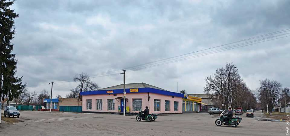 В центре села Сагуновка