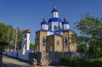 Сергиевская церковь в Скадовске