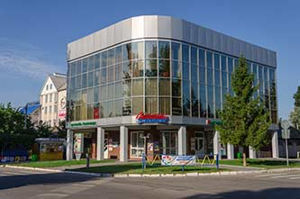 Торговый центр в городе Скадовск