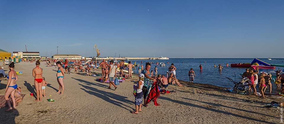 Пляж в Скадовске
