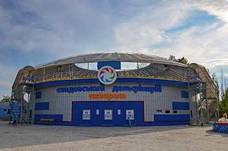 Дельфинарий в городе Скадовск