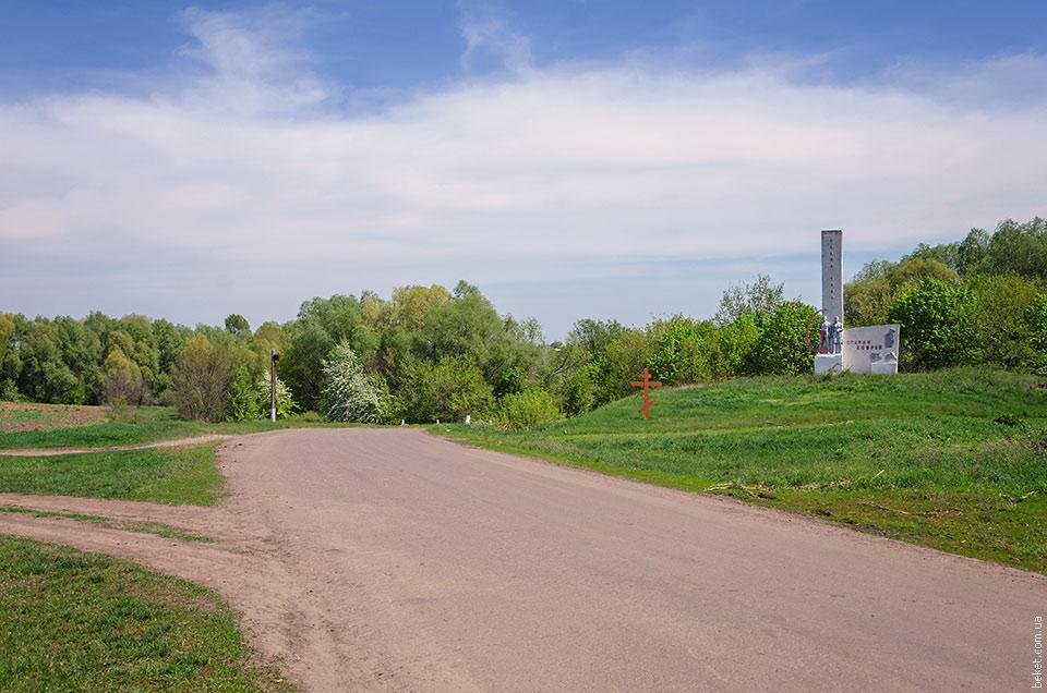 Дорога в Старый Коврай
