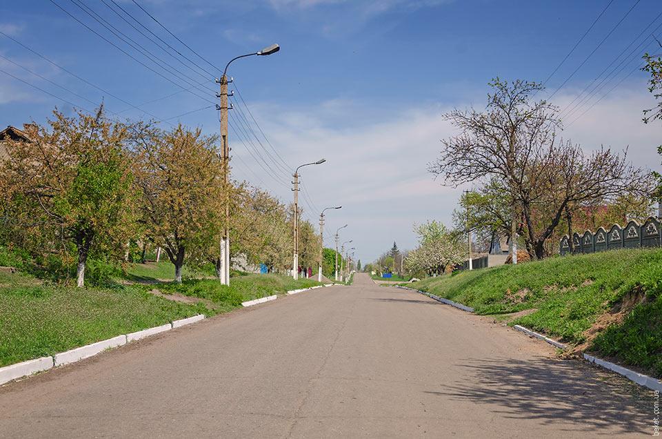 Улицы села Старый Коврай