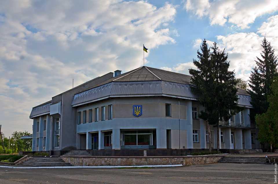 Здание сельсовета в Староселье