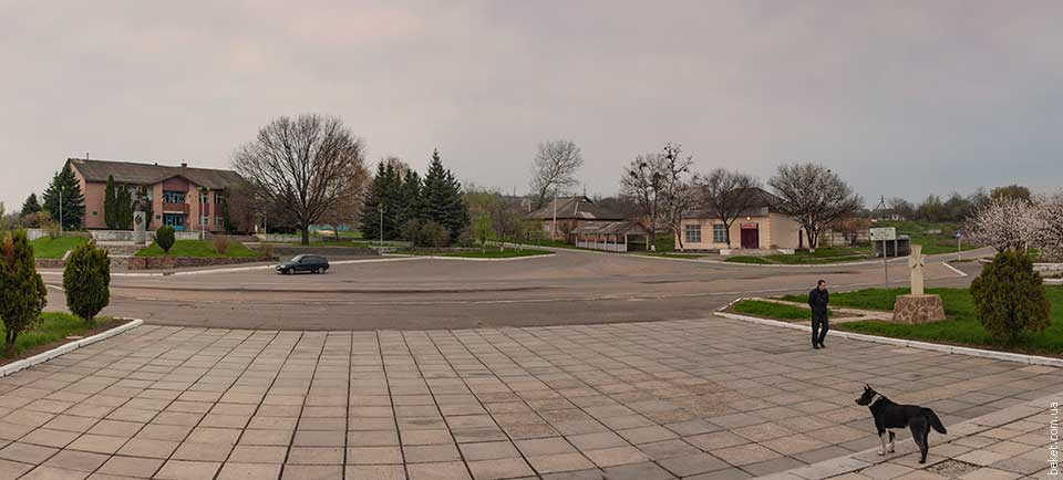 Центр села Субботов