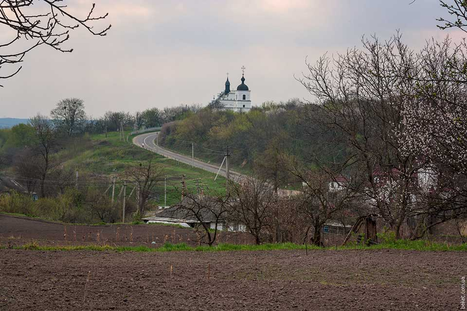 Дорога к Ильинской церкви