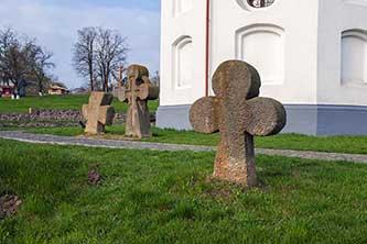 Старые могилы возле Ильинской церкви