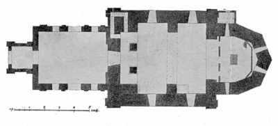 План Ильинской церкви