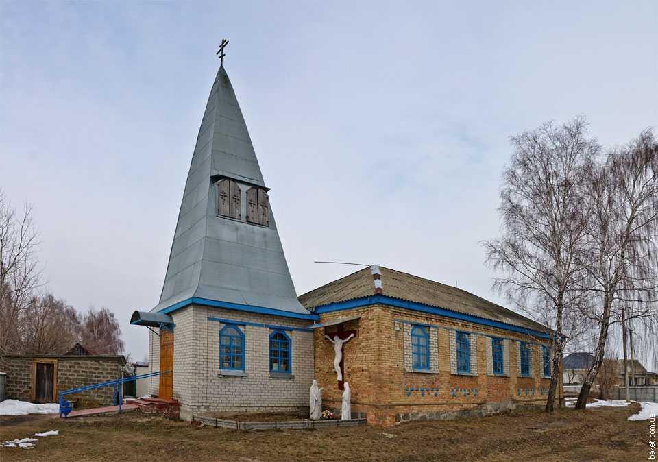 Церковь в селе Свидивок
