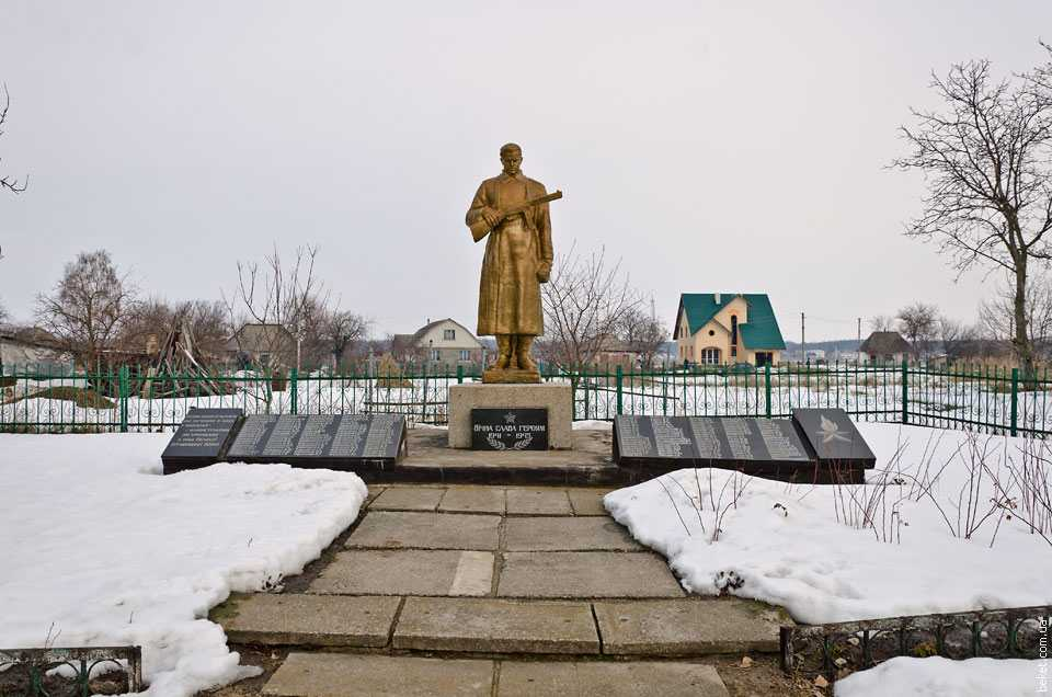 Памятник погибшим воинам односельчанам в Второй мировой войне