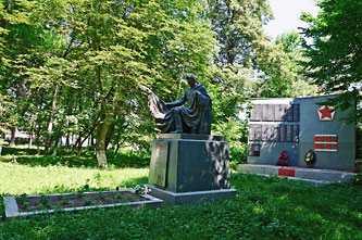 Памятник погибшим воинам-односельчанам в селе Таганча