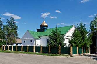 Церковь в селе Таганча